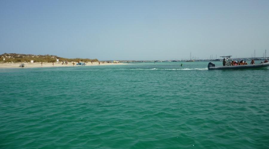 espalmador 9 spiaggia